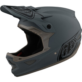 Troy Lee Designs D3 Fiberlite Fietshelm, stealth grey